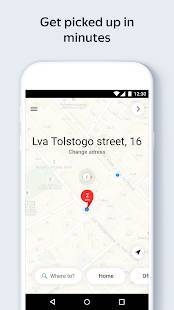 Androidアプリ「Yandex.Taxi Ride-Hailing Service」のスクリーンショット 3枚目
