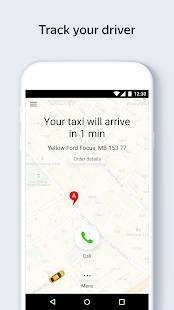 Androidアプリ「Yandex.Taxi Ride-Hailing Service」のスクリーンショット 5枚目
