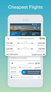 Androidアプリ「CheapOair: Cheap Flights, Cheap Hotels Booking App」のスクリーンショット 2枚目