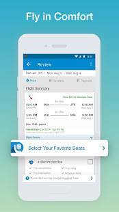 Androidアプリ「CheapOair: Cheap Flights, Cheap Hotels Booking App」のスクリーンショット 3枚目