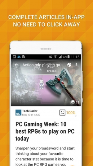 Androidアプリ「Appy Gamer – Games news」のスクリーンショット 2枚目