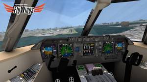 Androidアプリ「Flight Simulator Online 2014 FlyWings」のスクリーンショット 3枚目