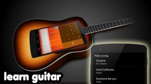 Androidアプリ「ギター」のスクリーンショット 2枚目