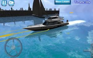 Androidアプリ「3Dボート駐車場レーシングシム」のスクリーンショット 2枚目