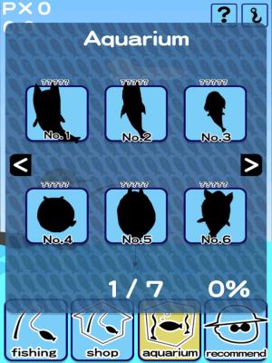 Androidアプリ「犬釣り Episode 1 -伝説のいぬぎょを釣れ」のスクリーンショット 3枚目