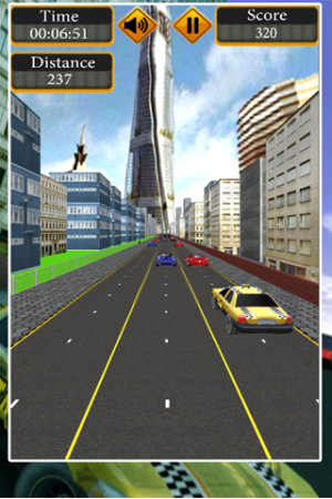 Androidアプリ「Crazzy Taxi Lite」のスクリーンショット 5枚目