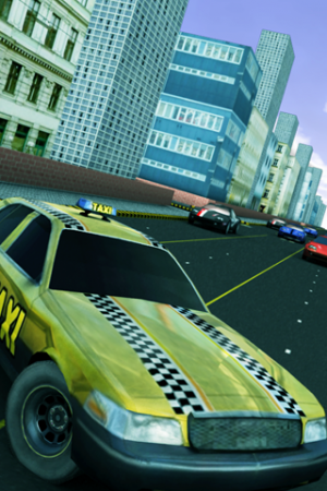 Androidアプリ「Crazzy Taxi Lite」のスクリーンショット 1枚目