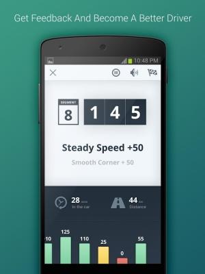 Androidアプリ「Flo - Driving Insights」のスクリーンショット 3枚目