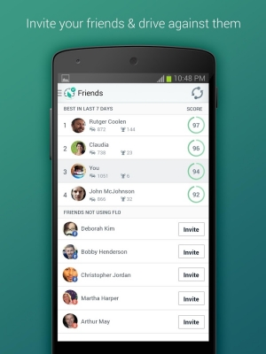 Androidアプリ「Flo - Driving Insights」のスクリーンショット 5枚目