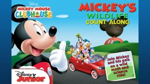Androidアプリ「Mickey's Wildlife Count Along」のスクリーンショット 1枚目