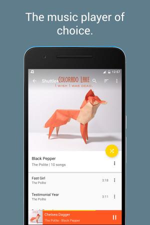 Androidアプリ「Shuttle Music Player」のスクリーンショット 5枚目