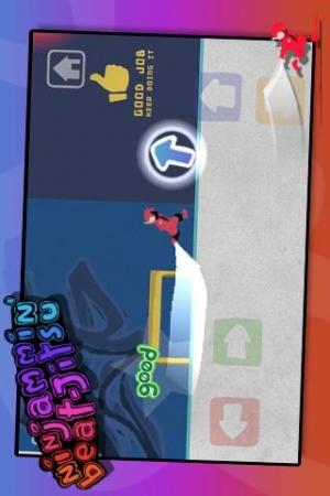 Androidアプリ「Ninjammin Beat-jitsu」のスクリーンショット 2枚目