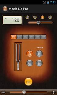 Androidアプリ「Maelz DX Pro(メトロノーム)」のスクリーンショット 3枚目