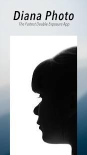 Androidアプリ「Diana Photo - double exposure」のスクリーンショット 1枚目