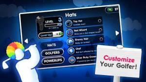 Androidアプリ「Super Stickman Golf 2」のスクリーンショット 5枚目
