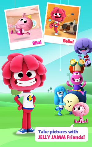 Androidアプリ「Jelly Jamm 1 - Videos for Kids」のスクリーンショット 4枚目
