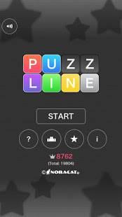Androidアプリ「Puzzline」のスクリーンショット 1枚目