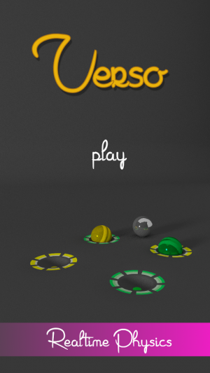 Androidアプリ「Verso: The Momentum Ball Game」のスクリーンショット 1枚目
