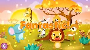 Androidアプリ「野生の動物 ジグソーパズル 123 (無料版)」のスクリーンショット 4枚目