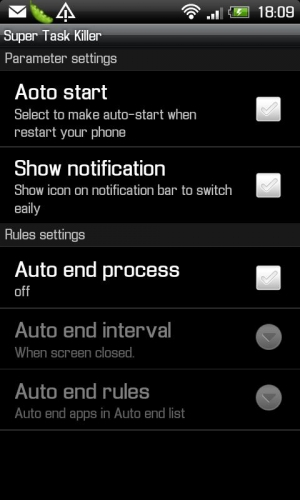 Androidアプリ「スーパータスクマネージャ」のスクリーンショット 4枚目