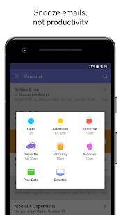 Androidアプリ「Newton Mail - Email & Calendar」のスクリーンショット 4枚目
