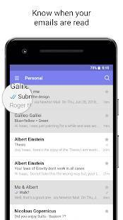 Androidアプリ「Newton Mail - Email & Calendar」のスクリーンショット 2枚目