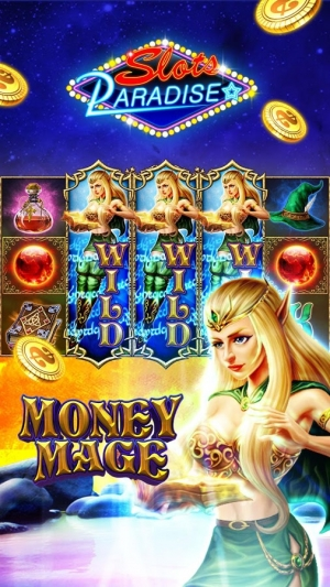 Androidアプリ「Slots Paradise」のスクリーンショット 4枚目