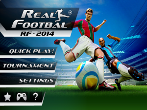 Androidアプリ「Real Football 2014」のスクリーンショット 2枚目