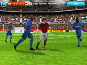 Androidアプリ「Real Football 2014」のスクリーンショット 4枚目