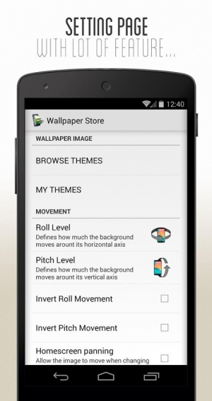Androidアプリ「3D Parallax Wallpaper」のスクリーンショット 5枚目