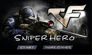 Androidアプリ「Sniper Hero - Shooting Game」のスクリーンショット 1枚目