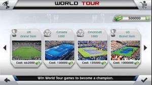 Androidアプリ「フリックテニス 3D - Tennis」のスクリーンショット 5枚目