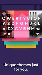 Androidアプリ「Fleksy- Emoji & gif keyboard app」のスクリーンショット 2枚目