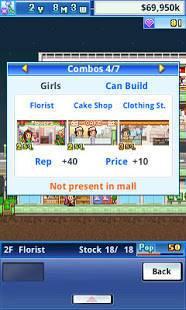 Androidアプリ「Mega Mall Story」のスクリーンショット 4枚目