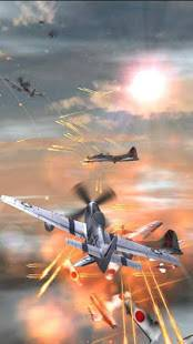 Androidアプリ「WWII Air Combat Live Wallpaper」のスクリーンショット 5枚目
