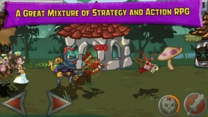 Androidアプリ「Monster Wars」のスクリーンショット 4枚目