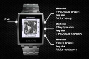 Androidアプリ「Music Player for Pebble」のスクリーンショット 4枚目