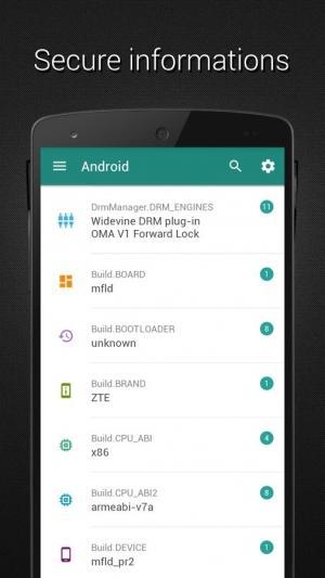 Androidアプリ「Developer (Material design)」のスクリーンショット 1枚目
