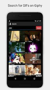 Androidアプリ「5SecondsApp - Animated GIF Create & Search」のスクリーンショット 2枚目