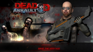 Androidアプリ「DEAD ASSAULT 3D」のスクリーンショット 2枚目