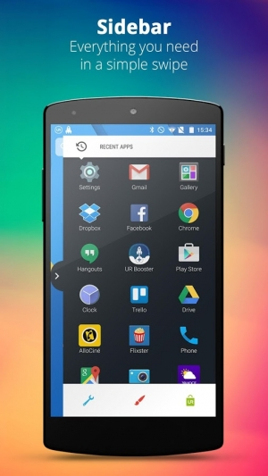 Androidアプリ「UR 3D Launcher—Customize Phone」のスクリーンショット 4枚目