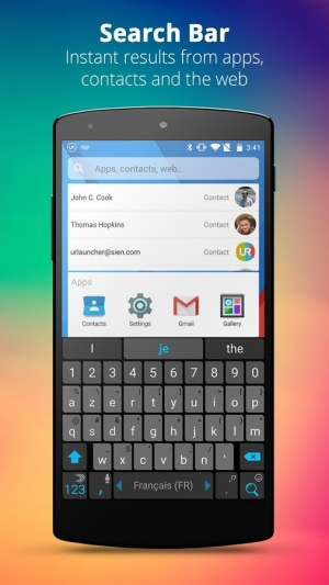 Androidアプリ「UR 3D Launcher—Customize Phone」のスクリーンショット 3枚目