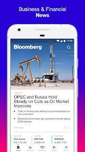 Androidアプリ「Bloomberg: Market & Financial News」のスクリーンショット 1枚目