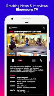 Androidアプリ「Bloomberg: Market & Financial News」のスクリーンショット 4枚目
