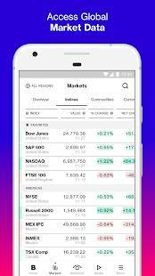 Androidアプリ「Bloomberg: Market & Financial News」のスクリーンショット 2枚目
