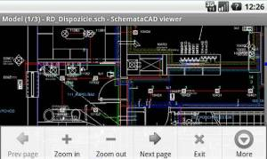 Androidアプリ「SchemataCAD viewer DWG/DXF」のスクリーンショット 2枚目