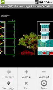 Androidアプリ「SchemataCAD viewer DWG/DXF」のスクリーンショット 1枚目