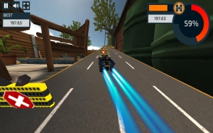 Androidアプリ「LEGO® Pull-Back Racers 2.0」のスクリーンショット 4枚目