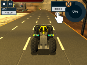 Androidアプリ「LEGO® Pull-Back Racers 2.0」のスクリーンショット 1枚目