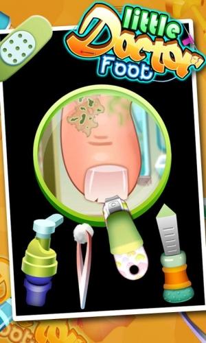 Androidアプリ「足の医者 - 子供のゲーム」のスクリーンショット 3枚目